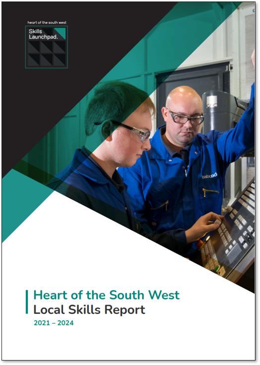 An apprentice and work colleague are learning how to operate a piece of technical machinery